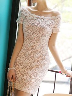 Beautiful Off-the-Shoulder Lace
