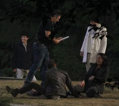 On the #OnceUponATime set last night, @LanaParrilla accidentally tripped and fell on @sean_m_maguire #OUAT - 23 July 3025