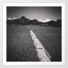 street+to+nowhere+Art+Print+by+Steffen+Glaeser+-+$20.00