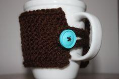Knit Coffee Mug Cozy