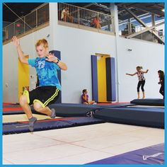 #School 's out for #summer and were #jumping for #joy at #VerticalZone #trampoline centre in #Barrie #getoutandplay #visitbarrie #summerfun #familyfun