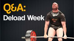 Q&A: Deload Week by Bryan Dermody #bodybuilding #powerlifting #strongman #weightlifting #lifting #gym #strength #power #training #trainhard #deload #reload #workout #USAPL #IPF #strength&conditioning