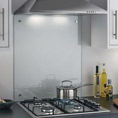 Toughened Clear Glass Splashbacks | Kitchen Worktop Splashbacks | Howdens Joinery
