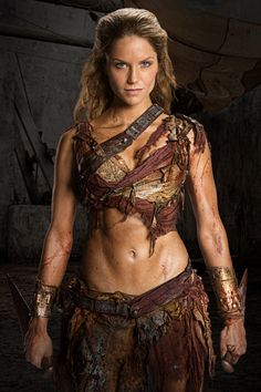Ellen Hollman as Saxa, Spartacus: War of the Damned