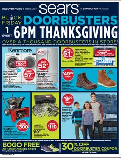 sears black friday ad 2013