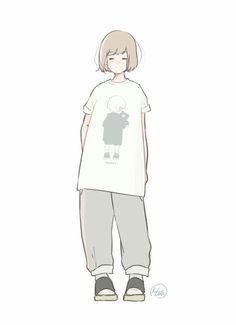 Manga Girl, Anime Art Girl, Art Sketches, Art Drawings, Character Art, Character Design, Korean Art, Illustration Girl, Cute Cartoon Wallpapers