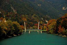Austria, Innsbruck, up the river - innsbruck, via Flickr.