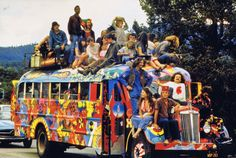 Ken Kesey - Those were the days my friend, we thought they'd never end.  We'd sing and dance forever and a day.