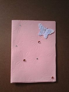 Butterfly Easter card made by Lynne Toops