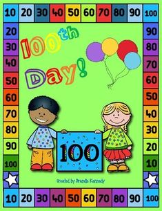 This will be a growing bundle so be sure to check back for updates and additions. This packet contains: Parent letter for mystery 100 collection 100 Days Smarter buttons Create a new picture using the numbers from 100 Race to 100 printable 100th Day snack with names of food and one that is blank