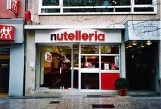 Nutelleria @ Frankfurt, Germany OMG, if this is real i must go here before i die!