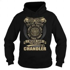 CHANDLER - #mens sweatshirts #t shirt companies. ORDER NOW => https://www.sunfrog.com/Names/CHANDLER-111521948-Black-Hoodie.html?id=60505
