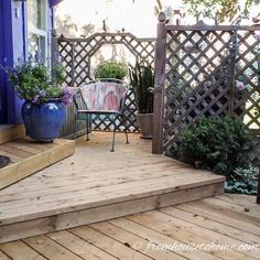 Container gardening in the shade can be a bit tricky. This list of blue plants for containers in the shade will have the pots on your patio, walkway or porch looking beautiful all summer long. Backyard Privacy, Outdoor Pergola, Gazebo, Outdoor Decor, Outdoor Living, Outdoor Spaces, Diy Pergola, Retractable Pergola, Pergola Cover