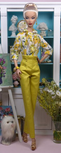 Kennet Square for Silkstone Barbie Victore Roux by MatisseFashions