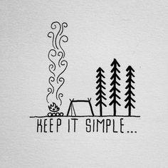 Keepin' it simple tonight. – Tattoo Ideas for Keepin' it simple tonight. Keepin' it simple tonight. Sharpie Drawings, Sharpie Art, Doodle Drawings, Cute Drawings, Simple Doodles Drawings, Sharpies, Cool Simple Drawings, Simple Nature Drawing, Mountain Drawing Simple