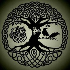 Jul 2015 - Inspiration for Justin Petitt's Tattoo. See more ideas about Yggdrasil tattoo, Celtic art and Celtic tree of life. Yggdrasil Tattoo, Norse Tattoo, Celtic Tattoos, Viking Tattoos, Tibetan Tattoo, Celtic Symbols, Celtic Art, Great Tattoos, Body Art Tattoos