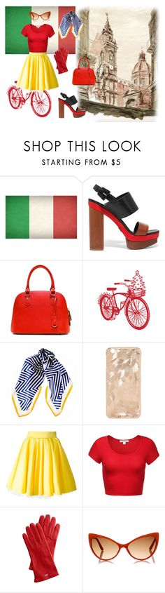 """""""Let's go to Italy this summer!"""" by lujzazsu ❤ liked on Polyvore featuring Michael Kors, Black, Philipp Plein, Mark & Graham, Tom Ford, Summer, travel, Italy and travelbeauty"""