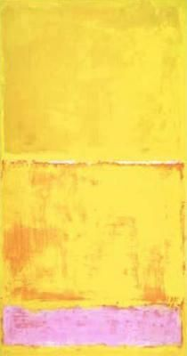 Mark Rothko: Ohne Titel No. 16, 1950 (Serigraphie).