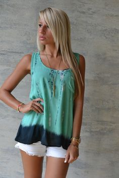 Mint To Be Tank $24