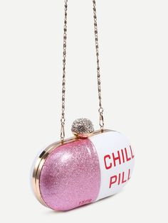 Online shopping for White Pill Shaped Clutch With Rhinestone Ball Closure from a great selection of women's fashion clothing & more at MakeMeChic.COM.