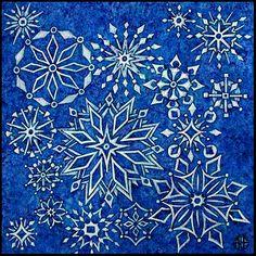 Snoflake tapestry, Amy E. Fraser