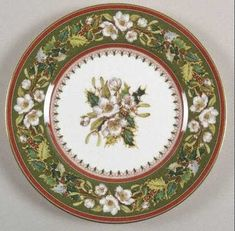 christmas rose spode---my FAVORITE Christmas china
