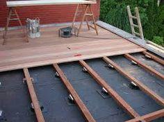 Een houten terras aanleggen terras livios tuinontwerpen pinterest bouw en tuin - Bank terras hout ...