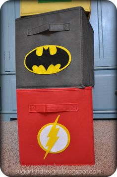 """Pinspiration-- Host a """"Superheroes in theGarden class to help kids understand the importance of insects and bugs as pollinators and pest-removers. Also Underground Superheroes a/k/a decomposers Thanks to -- sugartotdesigns: Superhero Bins {Tutorial and Printable}"""
