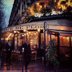 Café de Flore in Paris, Île-de-France
