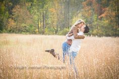#engagement #kiss #jump #fall #grass #photography by High Contrast Photography (Jerusalem Mill, Kingsville, MD)