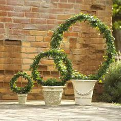 make wire topiary hoop - Google Search
