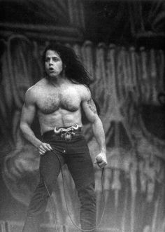 Glenn Danzig (born Glenn Allen Anzalone; June 23, 1955)[1] is an American singer-songwriter, musician, author, and entrepreneur. He is a founder of bands the Misfits, Samhain, and Danzig