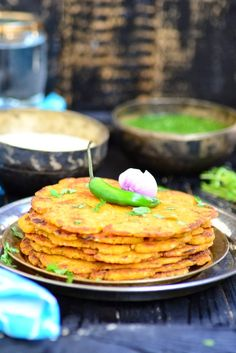 Makki Aur Mooli Ka Paratha is one such traditional Punjabi dish made with radish and mustard seeds, enjoyed especially during winters. It is traditionally made in the wood fire, but now we have started making it on the stove top. It tastes best when it is hot and smeared with a layer of ghee on top and a piece of gur ( jaggery ) on the side.