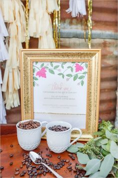 coffee bean wedding favor idea #weddingfavors #diy #weddingchicks http://www.weddingchicks.com/2014/02/17/feel-good-floral-wedding-ideas/
