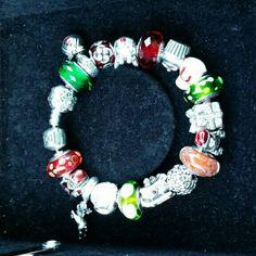 Pandora Bracelet Christmas Pandora Bracelet.. obo Pandora Jewelry Bracelets