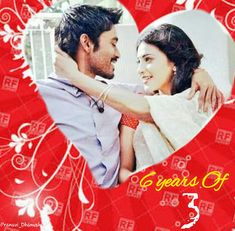 6 years of Pain Of Love 3 . Ram And Janai Love forever . Starring One n only Dhanush and Shruthi Haasan. An Aishwarya . 2012 Movie, 3 Movie, It Movie Cast, Movie Songs, Latest Wallpapers, Movie Wallpapers, Hindi Video Songs Hd, Movie Ringtones, Dhoom 3