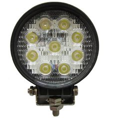 27W Round LED Work Light Lamp Off Road High Power ATV Jeep 4x4 Tractor 30 Degree Spot Light  //Price: $ & FREE Shipping //    #car #motor #driver #sensor #carliker #racer #premiumcar #sportcar #automobile