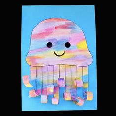 Watercolour Jellyfish – Make Film Play Jellyfish Drawing, Watercolor Jellyfish, Jellyfish Art, Under The Sea Crafts, Under The Sea Theme, Octopus Crafts, Ocean Crafts, Ocean Projects, Art Projects