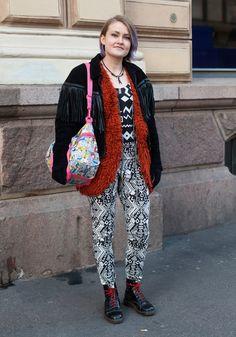 Sandra - Hel Looks - Street Style from Helsinki