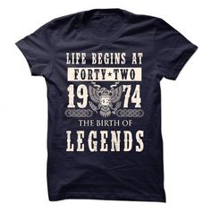 1974 LEGENDS T Shirts, Hoodies. Check Price ==►…