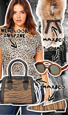 d03e13c5c9cb Affronta il nuovo anno con un look animalier pieno di grinta!   LookDellaSettimana Lady Dior