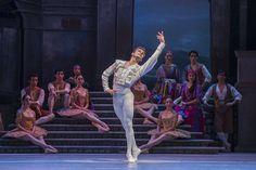 Don Quijote. Ballet de Santiago. Basilio: Rodrigo Guzmán. Foto: Patricio Mel