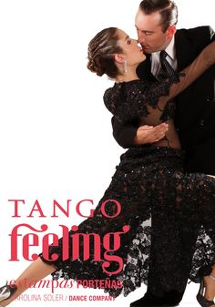 Tango Feeling Afiche, creado por Ana C Morales Soler