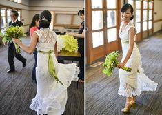 [inspiration] the story behind the crocheted wedding dress that went viral