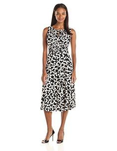 247101b906b Danny   Nicole Women s A-Line Dress with Key Hole