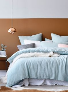 Once exclusively used in nursery rooms, pastel tones have now made their way into the rest of our home.