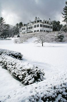 The Mount, Edith Wharton's home in Lenox, MA.  Close to where I grew up.  An amazing home and now museum!