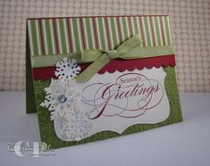 Peaceful Snowflakes by catherinep - Cards and Paper Crafts at Splitcoaststampers