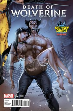 Death Of Wolverine #2 Cover B Midtown Exclusive J Scott Campbell Connecting Variant Cover (Part 2 of 4)