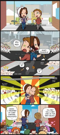 Paid Commission: Best friends and Fangirls by KamiDiox on DeviantArt Supernatural Cartoon, Supernatural Ships, Supernatural Drawings, Jared And Jensen, Jensen Ackles, Winchester Brothers, Winchester Boys, Fandoms, My Little Baby